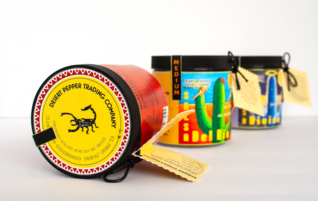 salsa jar package design